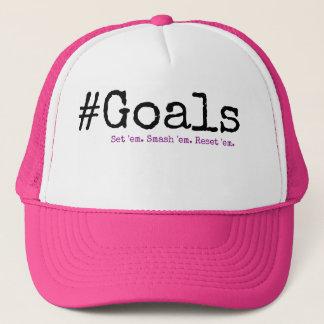 #Goals Trucker Hat