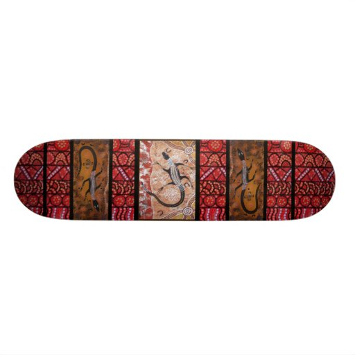 Goanna Dreaming Skateboard.
