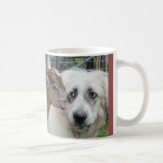 Goat and Great Pyrenees Mug