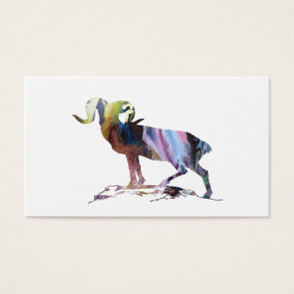 Goat Art Business Card