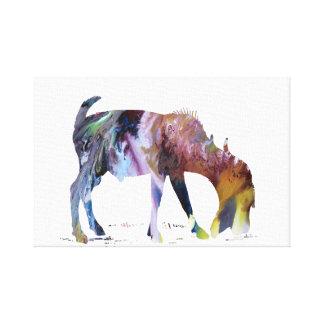 Goat Art Canvas Print