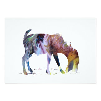 Goat Art Card