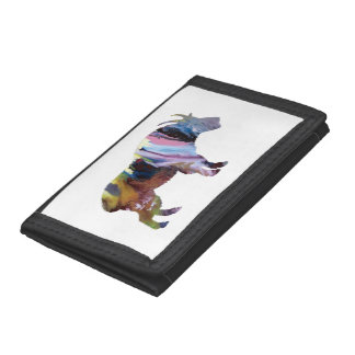 Goat Art Trifold Wallet