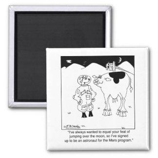 Goat Astronauts Magnet