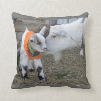 Goat Baby Kid with Sweater Barnyard Farm Animal Cushion