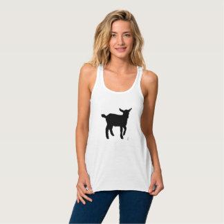 Goat Black & White Singlet