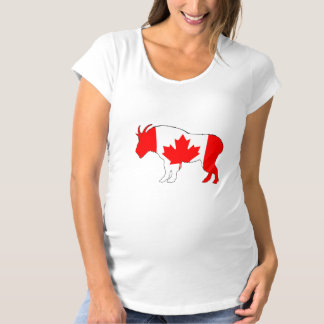 Goat Canada Maternity T-Shirt