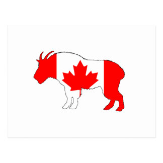 Goat Canada Postcard