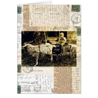 Goat Card Ephemera