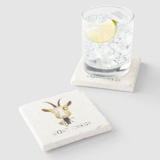 Goat Check – ZooDo Illustration Stone Beverage Coaster