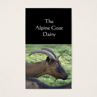Goat farm business card