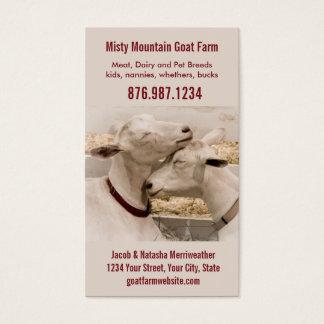 Goat Farm Dairy or Breeder Business Card