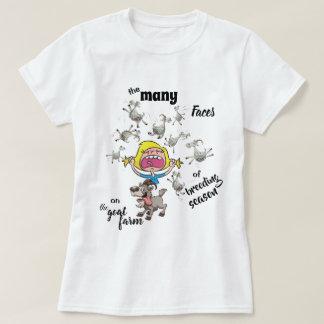 Goat Farm Funny Breeding Season T-Shirt