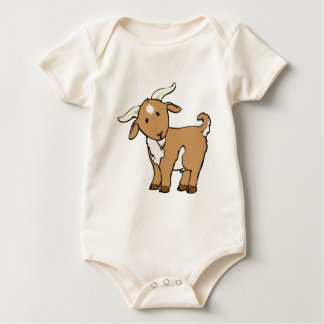 goat goatee baby bodysuit