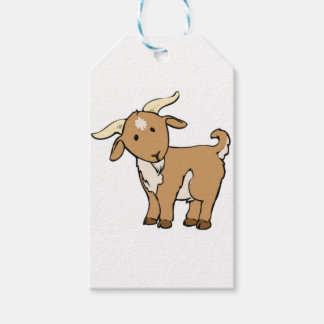 goat goatee gift tags