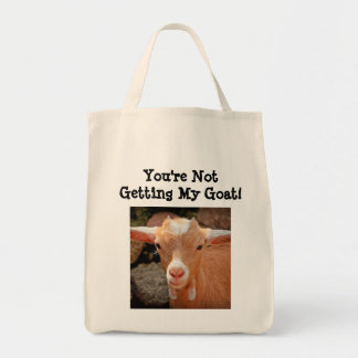Goat Grocery Tote