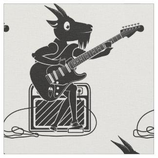 Goat Guitarist Fabric