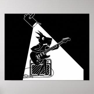 Goat Guitarist Poster