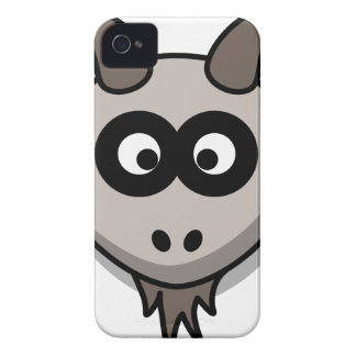 Goat Head Drawing iPhone 4 Case