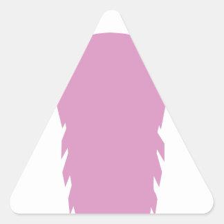 Goat Head Triangle Sticker