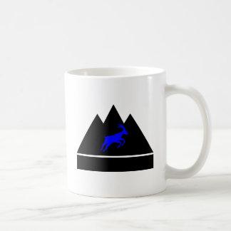 Goat in a Mountain Coffee Mug