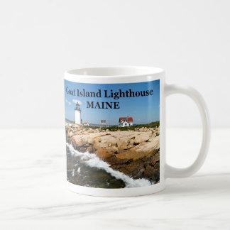 Goat Island Lighthouse, Maine Mug