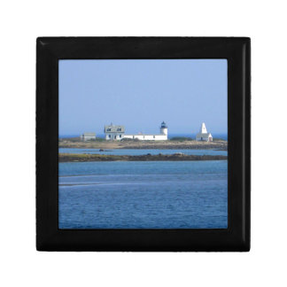 Goat Island Lighthouse Small Square Gift Box