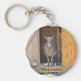 Goat Key Chain