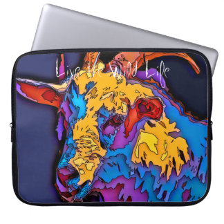 Goat - Live the Wild Life / Laptop Sleeve