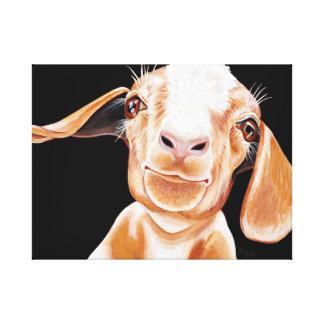 Goat Love Canvas Print
