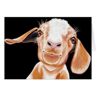 Goat Love Card