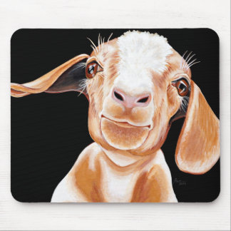 Goat Love Mouse Pad