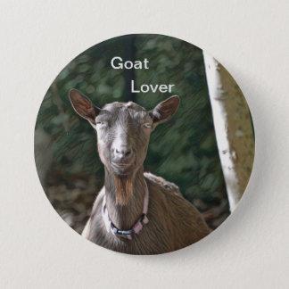Goat Lover 7.5 Cm Round Badge