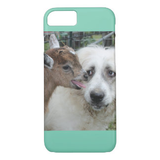 Goat meets dog...I-Phone 6..Barely There iPhone 7 Case