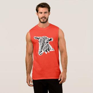 """""""Goat"""" Men's Ultra Cotton Sleeveless T-Shirt"""