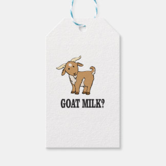 goat milk? gift tags
