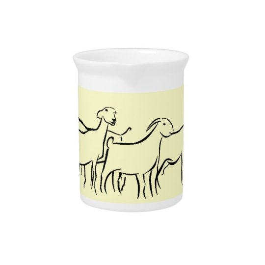 Goat Milk Pitcher