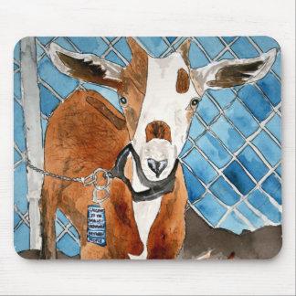 goat mousepad mouse pads animal farm art