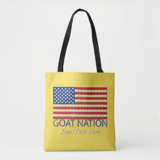 GOAT NATION The American Goat  GetYerGoat™ Tote Bag