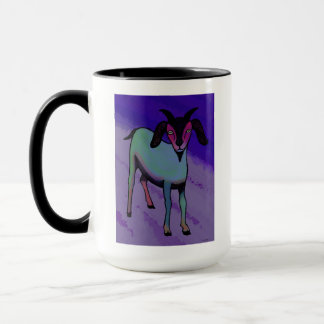 Goat on the Shore Coffee Mug