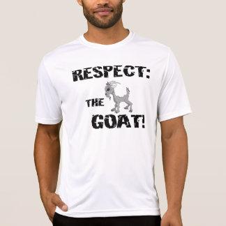 Goat Pet Farm Animal Respect Goat Husband Dad T-Shirt