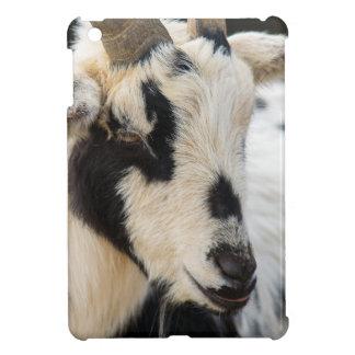 Goat portrait iPad mini cover