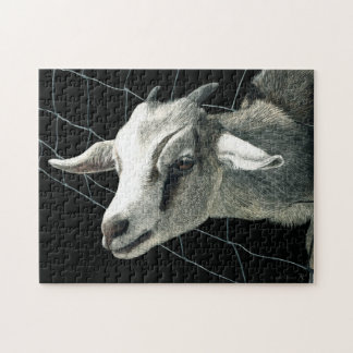 "Goat Puzzle - ""The Grass is Always Greener"""
