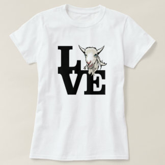 GOAT | Retro L O V E No Horns T-Shirt