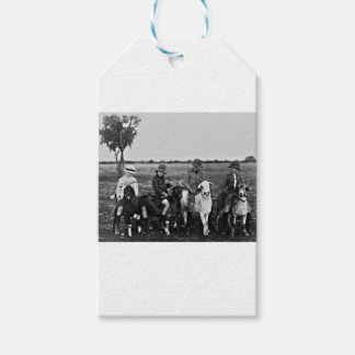 Goat Riders of the past Gift Tags