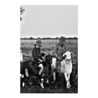 Goat Riders of the past Stationery