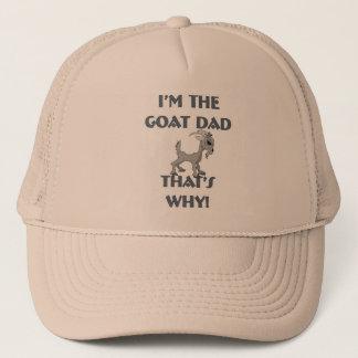 Goat Shirts for Dads Trucker Hat
