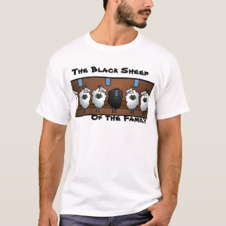 goat, The Black Sheep , Of the Family T-Shirt