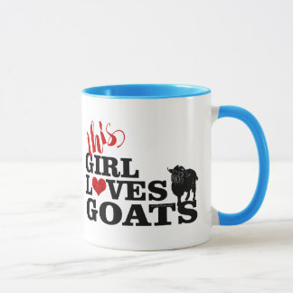 GOAT | This Girl Loves Goats Pygmy Buck Mug