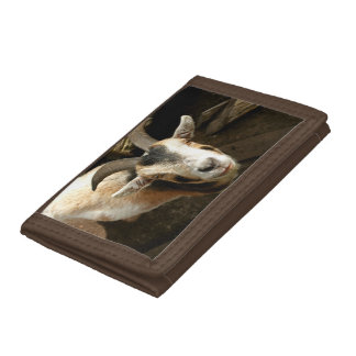 Goat Trifold Wallet
